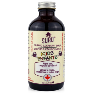 SURO® Organic Elderberry Syrup for Kids