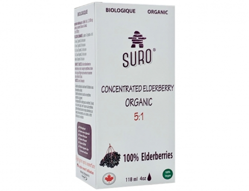 Concentrated Elderberry 5:1 Organic